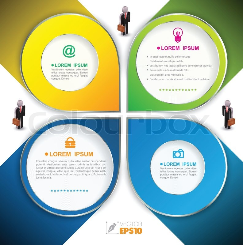 business plan info graphic templates education