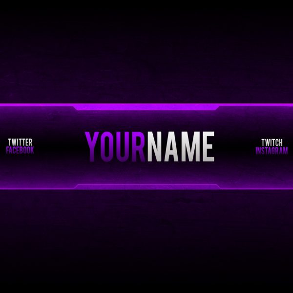 banner for youtube