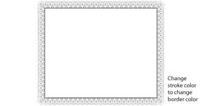 banner template free certificate border free vector f