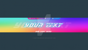 banners for youtube banner template for youtube channels by nightowldeviant dtevhc