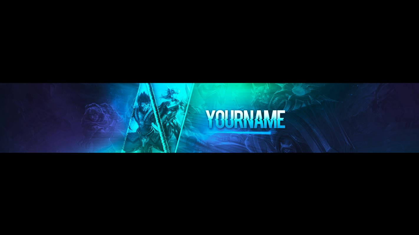 Banners For Youtube Template Business