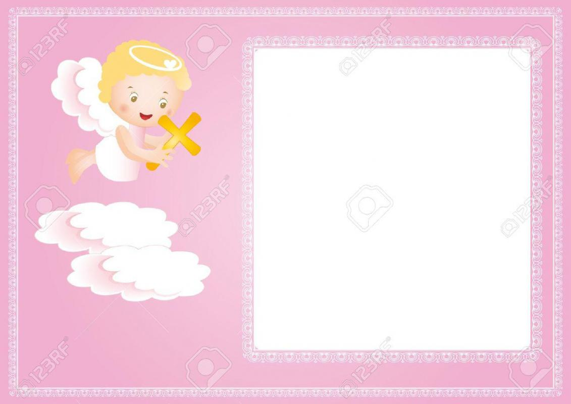 Baptism Invitation Template Template Business