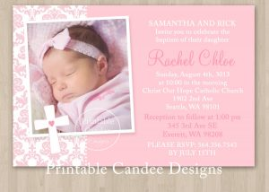 baptism invitation template template for baptism invitations