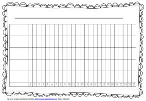 bar graph template bar graph with five columns horizontal