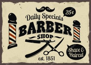 barber shop flyer depositphotos stock illustration barber shop or hairdresser icons