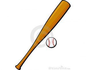 baseball bat vector baseball bat ball vector