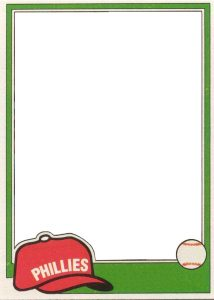 baseball card template topps template