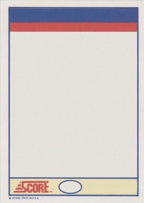 Baseball card template template business for Baseball card size template
