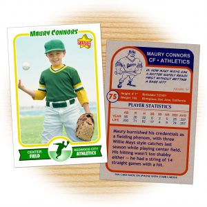 baseball card template retro baseball card template