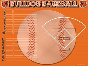 baseball lineup sheet artesia baseball lineup board x