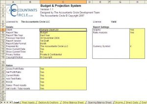 basic budget templates bps lead