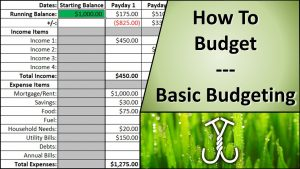 basic budgeting template maxresdefault
