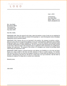 basic cover letter sample a cover letter sample cover letter