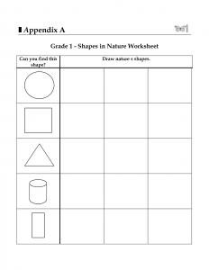 basic geometry worksheets basic shapes worksheets first grade