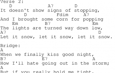 basic guitar chords pdf let it snow