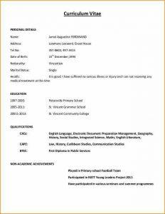 basic job application form curriculum vitae sample curriculum vitae sample format fcbd