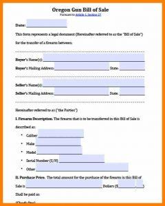 basic job application form vehicle bill of sale oregon
