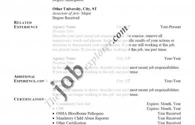 basic letter format application job sample performa resume sample