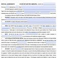 basic rental agreement or residential lease word doc south carolina standard residential lease agreement x