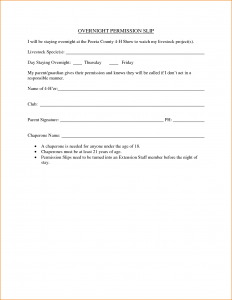basic rental agreement template sample permission slip