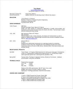 basic resume examples free basic resume example