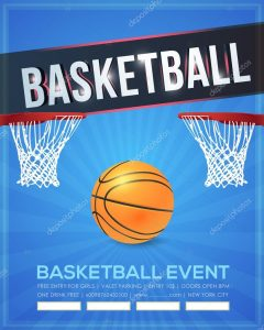 basketball flyer template depositphotos stock illustration basketball event poster flyer banner