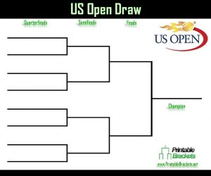 basketball tournament flyer us open draw