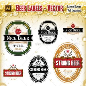 beer label template beer label template