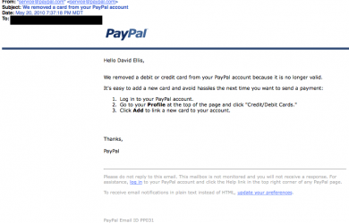 benefit verification letter billing problem phishing
