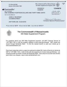 benefit verification letter ssp sample check