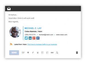 best email signatures wisestamp