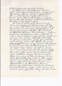 best love letter for him letter