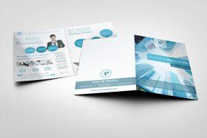 bi fold brochure bi fold brochure mock ups