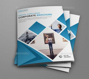 bi fold brochure clean corporate bi fold brochure