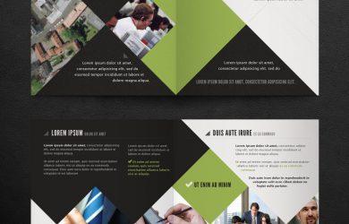 bi fold brochure corporate bi fold brochure template