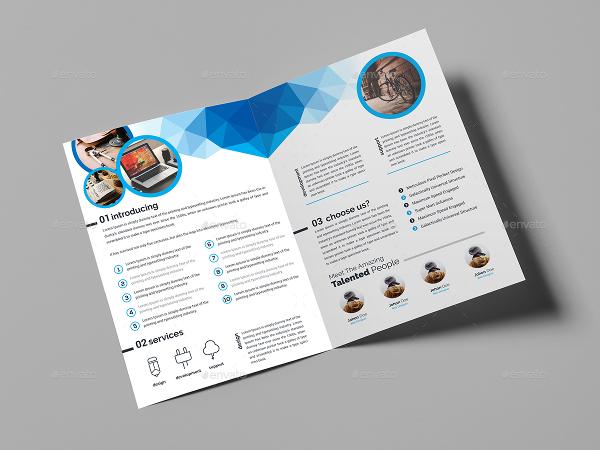bi fold brochure