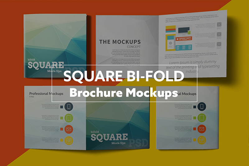Bi Fold Brochure Template Business