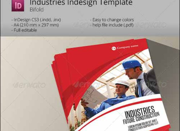 Bi Fold Brochure Template Template Business