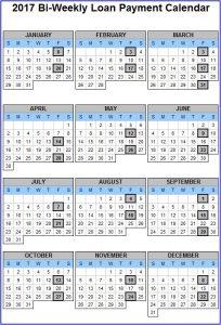 bi weekly pay calendar bi weekly payment cal