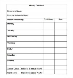bi weekly timesheet template weekly timesheet e