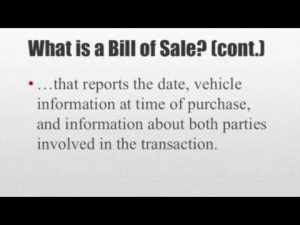 bill of sale for car pdf hqdefault