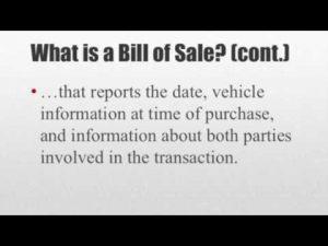 bill of sale for car pdf hqdefault