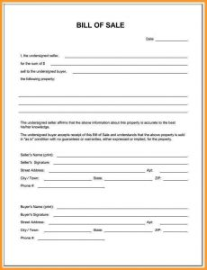 bill of sale form pdf bill of sale oregon blank bill of sale form