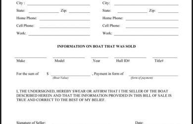 bill of sale form pdf bill of sale pdf