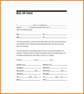 bill of sale pdf simple bill of sale pdf bill of sale general purpose