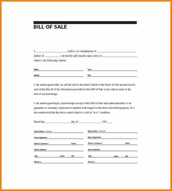 bill of sale pdf