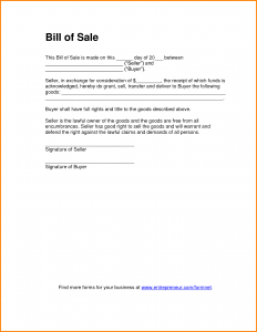 bill of sale template pdf bill of sale template pdf