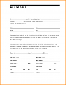 bill of sale template word automobile bill of sale template word eacbbbdb
