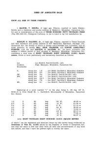 bill of sales motorcycle deed of absolute sale sample