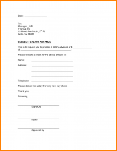 bill pay template advance salary request form salary advance form template